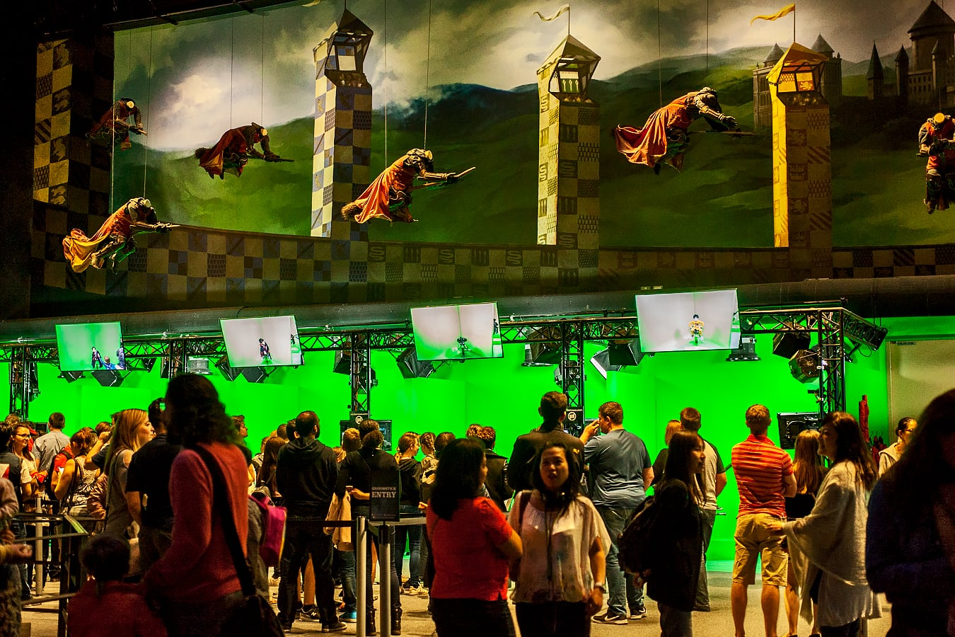 Visite au Harry Potter Warner Bros Studio de Londres - Quidditch