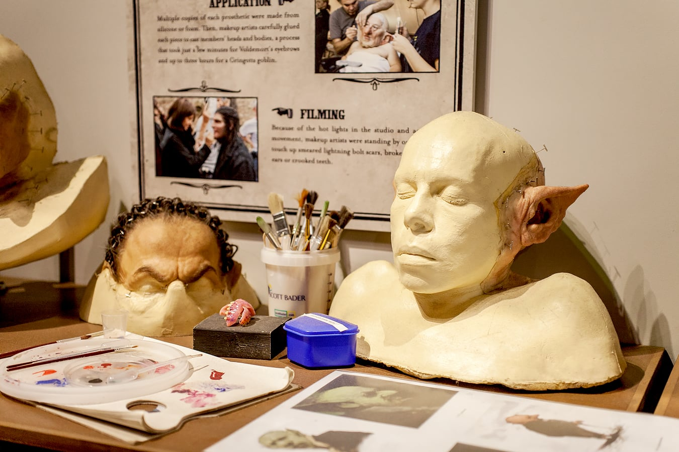 Visite au Harry Potter Warner Bros Studio de Londres - Maquillage