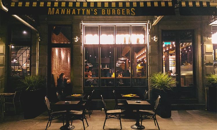 Manhattn's Burgers : New York à Bruxelles